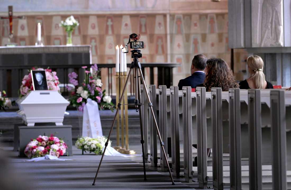 Begravning i coronans tid.