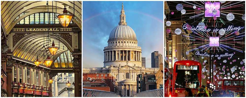 Roliga saker att göra i London i jul.