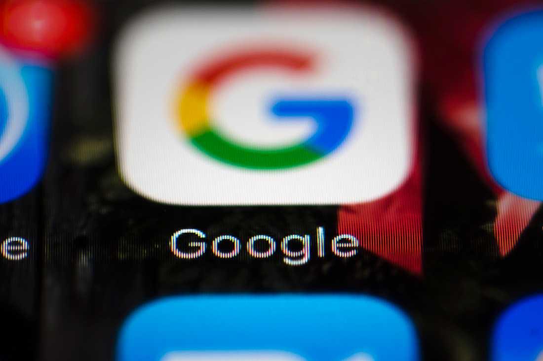 Google bryter med Huawei. Arkivbild.
