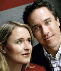 Kärlek Efter fyra misslyckade nätdejter träffade Helena Ehnbom rätt. I augusti gifter hon sig med Anders.