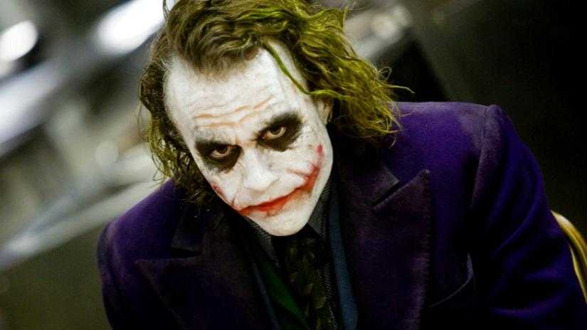"Heath Ledger i ""The dark knight""."