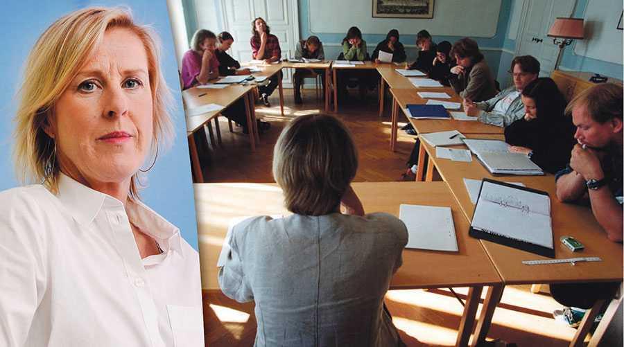 Alltför många kommuner haft alltför låga ambitioner vad gäller Komvux och SFI, skriver Åsa Fahlén.