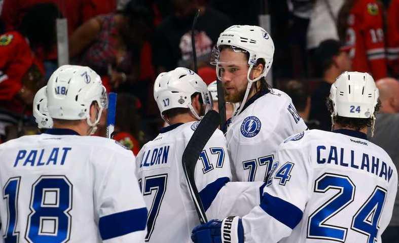 Victor Hedman dominerade när Tampa kopplade grepp om Stanley Cup-finalen.