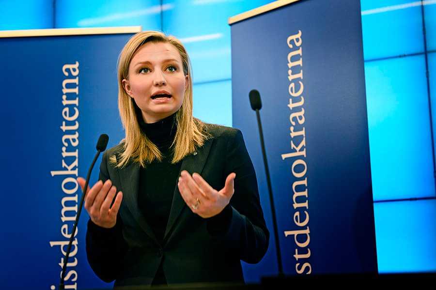 Ebba Busch Thor, partiledare för Kd.