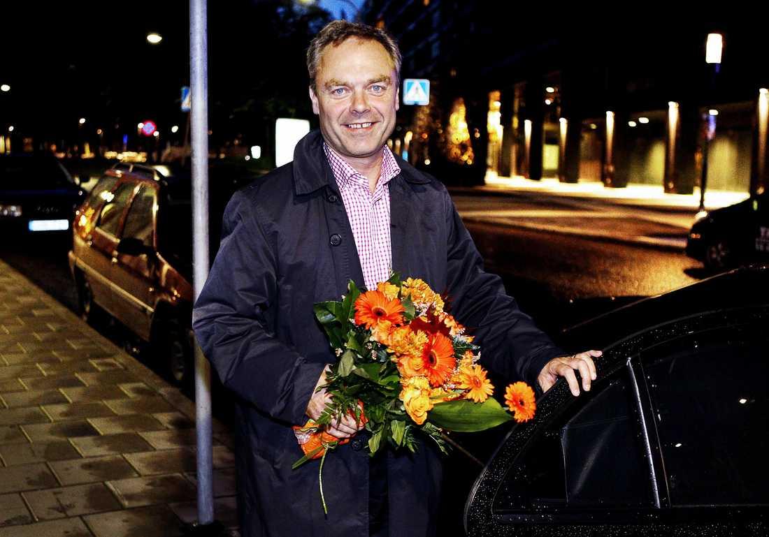 Jan Björklund, (fp) Utbildningsminister och vice Statsminister.