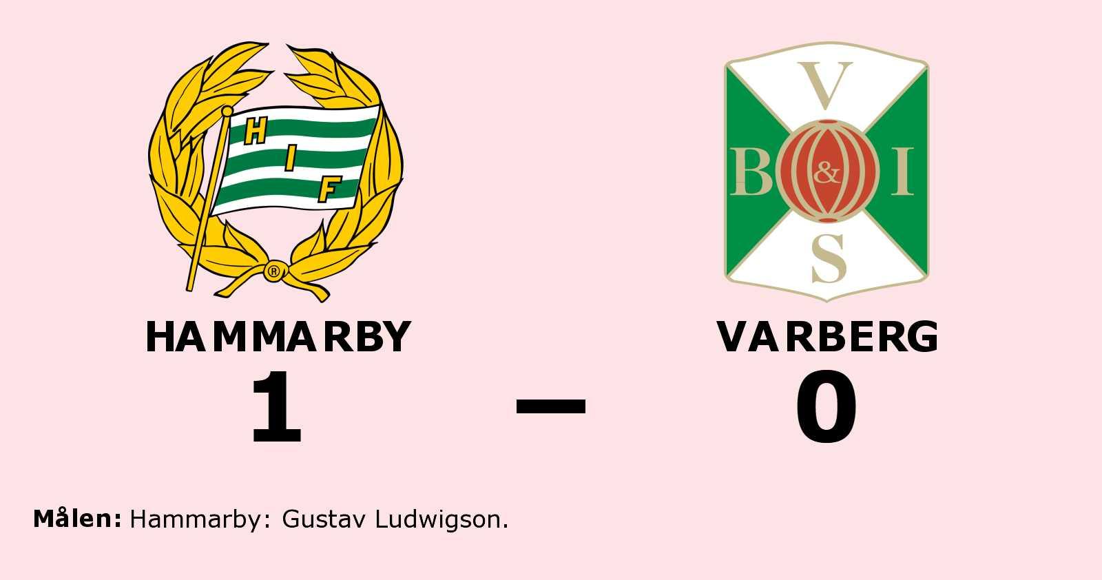 Gustav Ludwigson matchhjälte för Hammarby