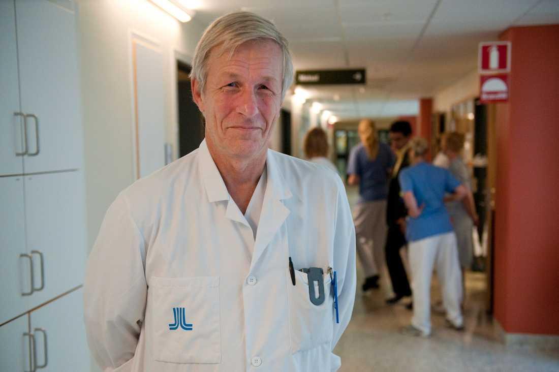 RF:s dopningskommissions avgående ordförande Åke Andrén Sandberg. Arkivbild.