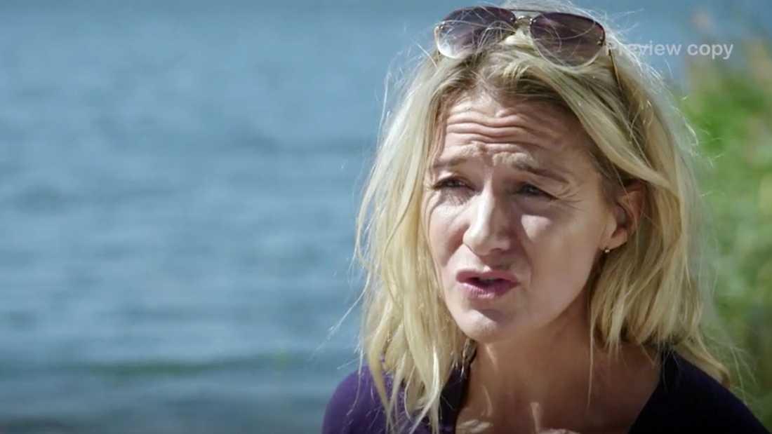 """Kristin Kaspersen i """"Renées brygga""""."""