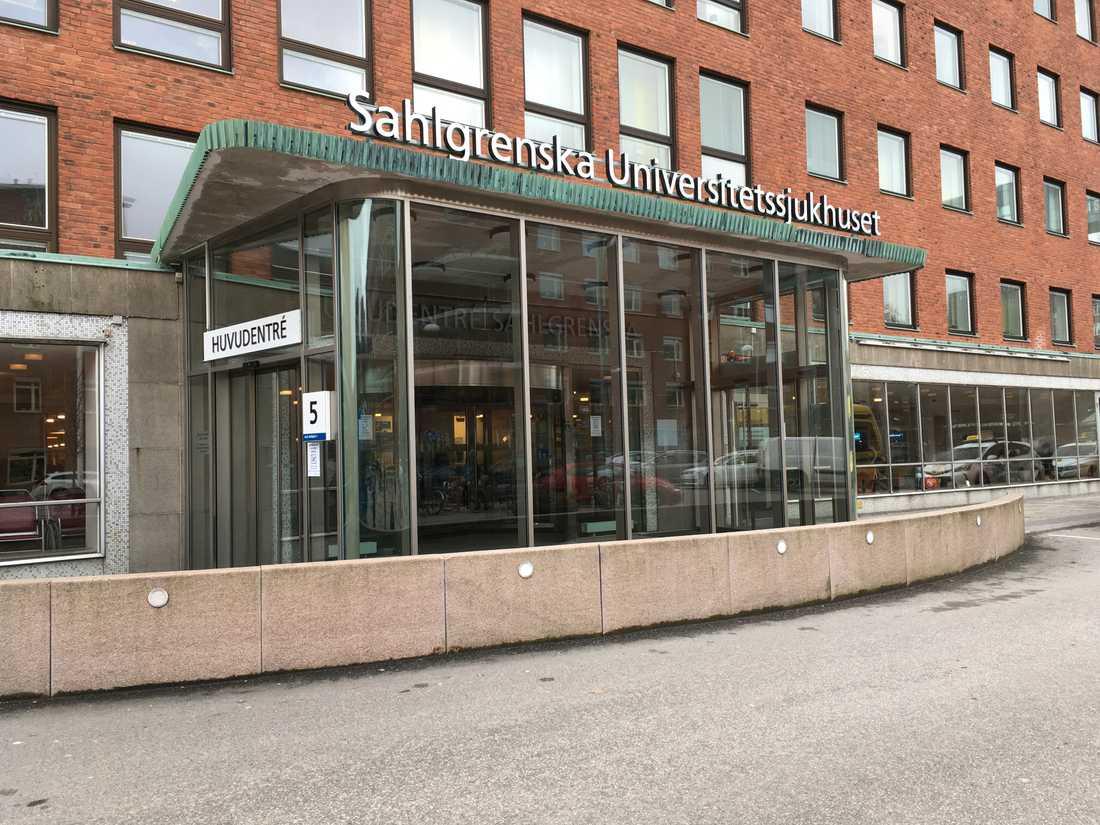 Sahlgrenska universitetssjukhuset i Göteborg. Arkivbild.