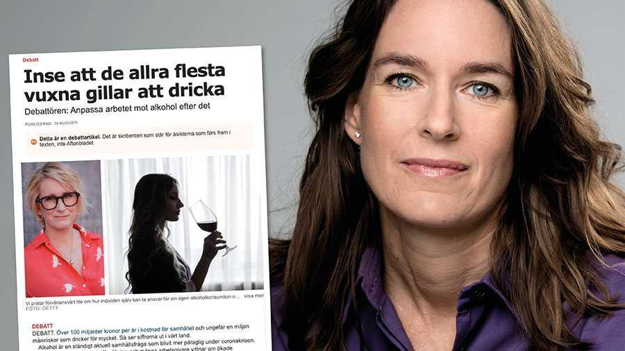Den bild som Anna Sjöström ger stämmer inte. IQ är just en sådan aktör som hon efterlyser – vi finns för de 90 procent av alla vuxna som väljer att dricka, skriver Karin Hagman.