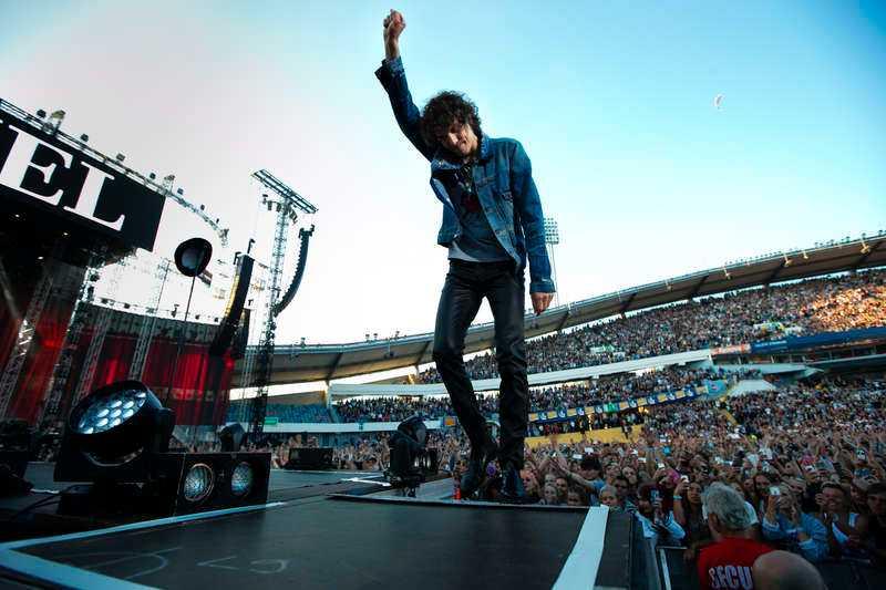 Krossade rekordet När Håkan Hellström spelade på Ullevi förra sommaren kom 69 349 besökare. Han slog därmed Bruce Springsteens gamla rekord på arenan.