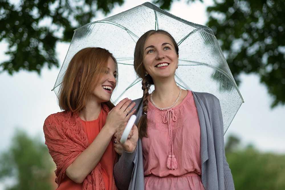 Fruntimmersveckan brukar påstås vara extra nederbördsrik.