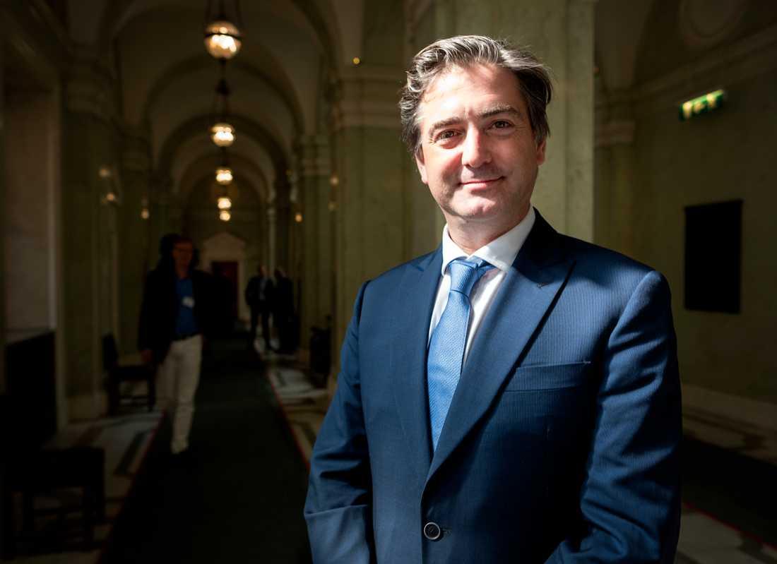 Richard Milsom, vd för Alliansen konservativa och reformister i Europa, det europeiska partiet där SD ingår.