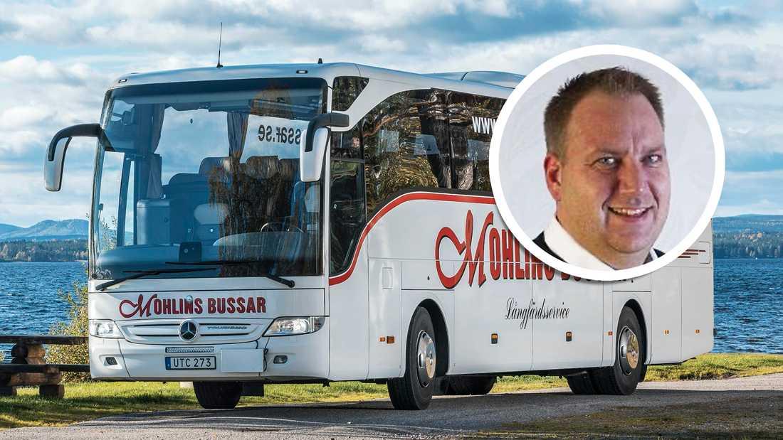 Mohlins buss tar över lokal- och skolbusstrafiken inom Region Uppsala.