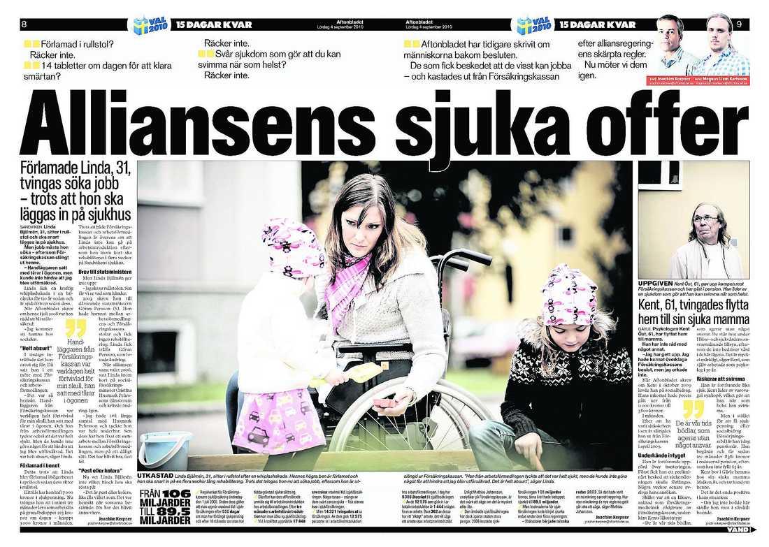 Aftonbladet 4 september.