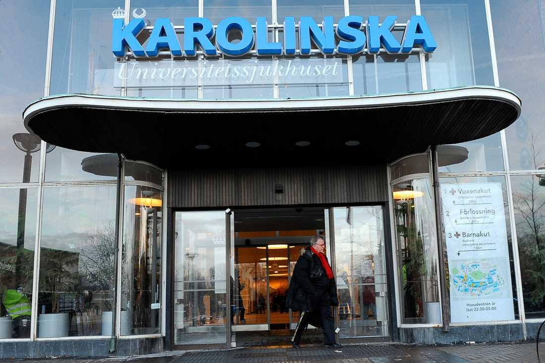 Karolinska sjukhuset i Solna.