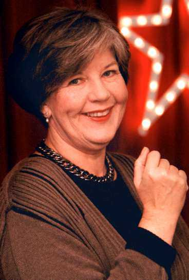 Ingela Agardh, programledare.