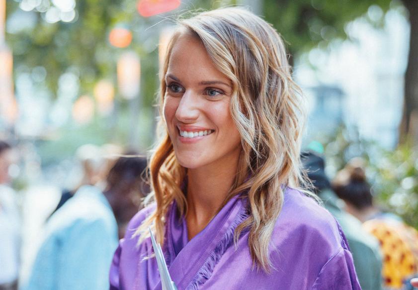 Lin Kowalska har utvecklat en app för att konsumera mode på ett mer hållbart sätt – genom att byta kläder med varandra.