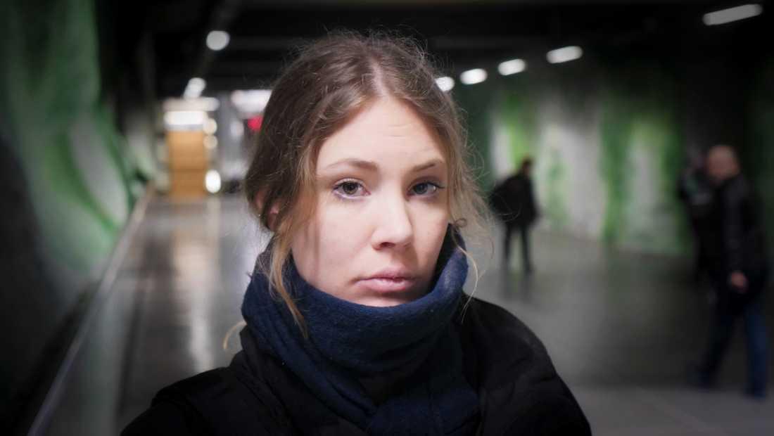 29-årige Sanne lider av psykisk ohälsa och missbruk.
