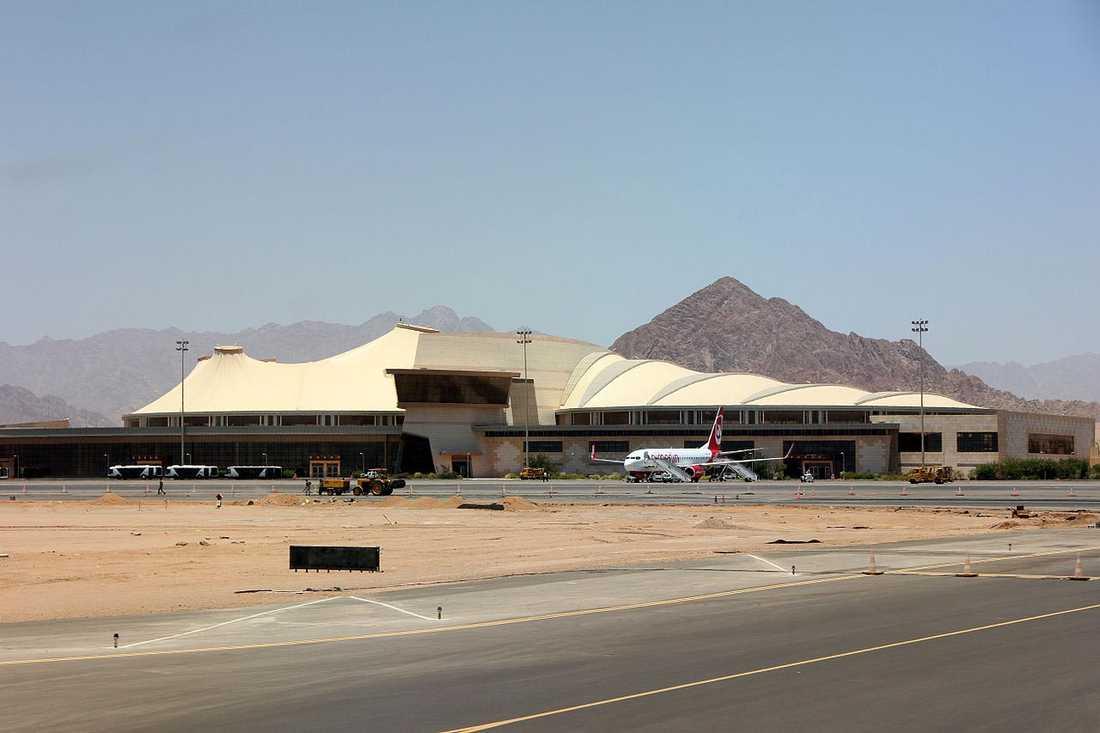 Flygplatsen i Sharm el-sheijk