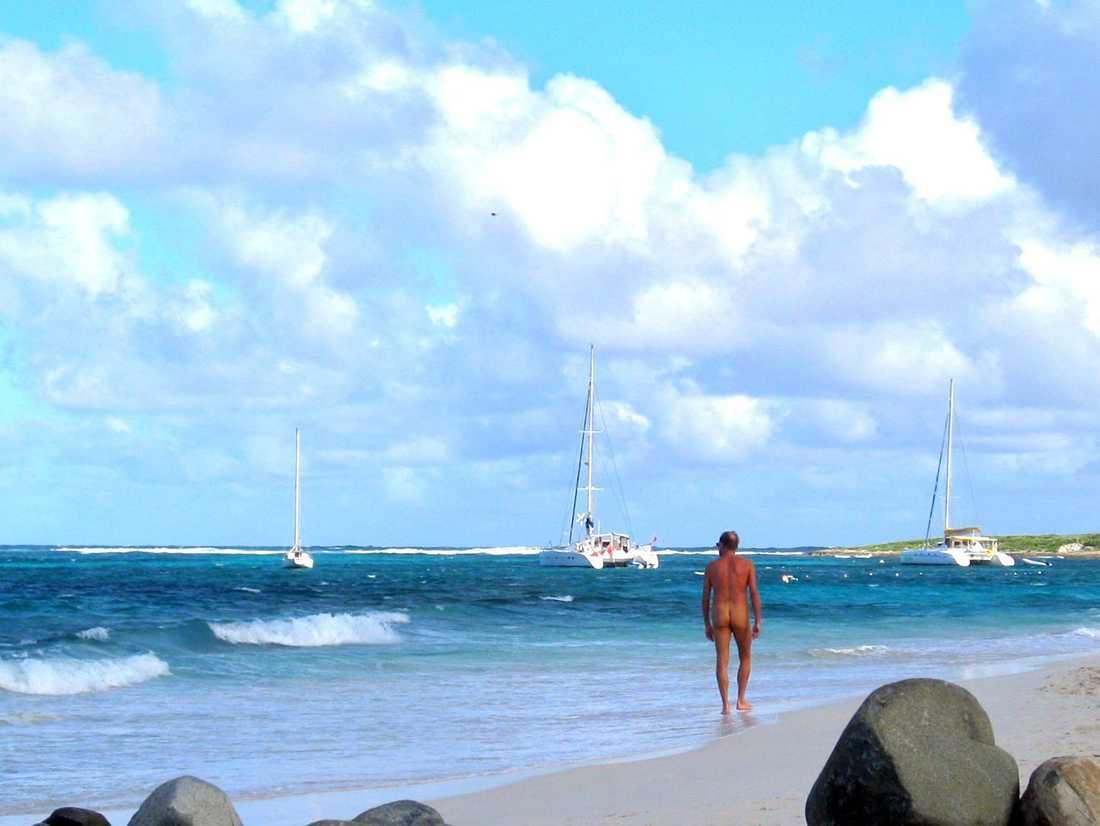 Kryssa naken med 3000 andra i Karibien.