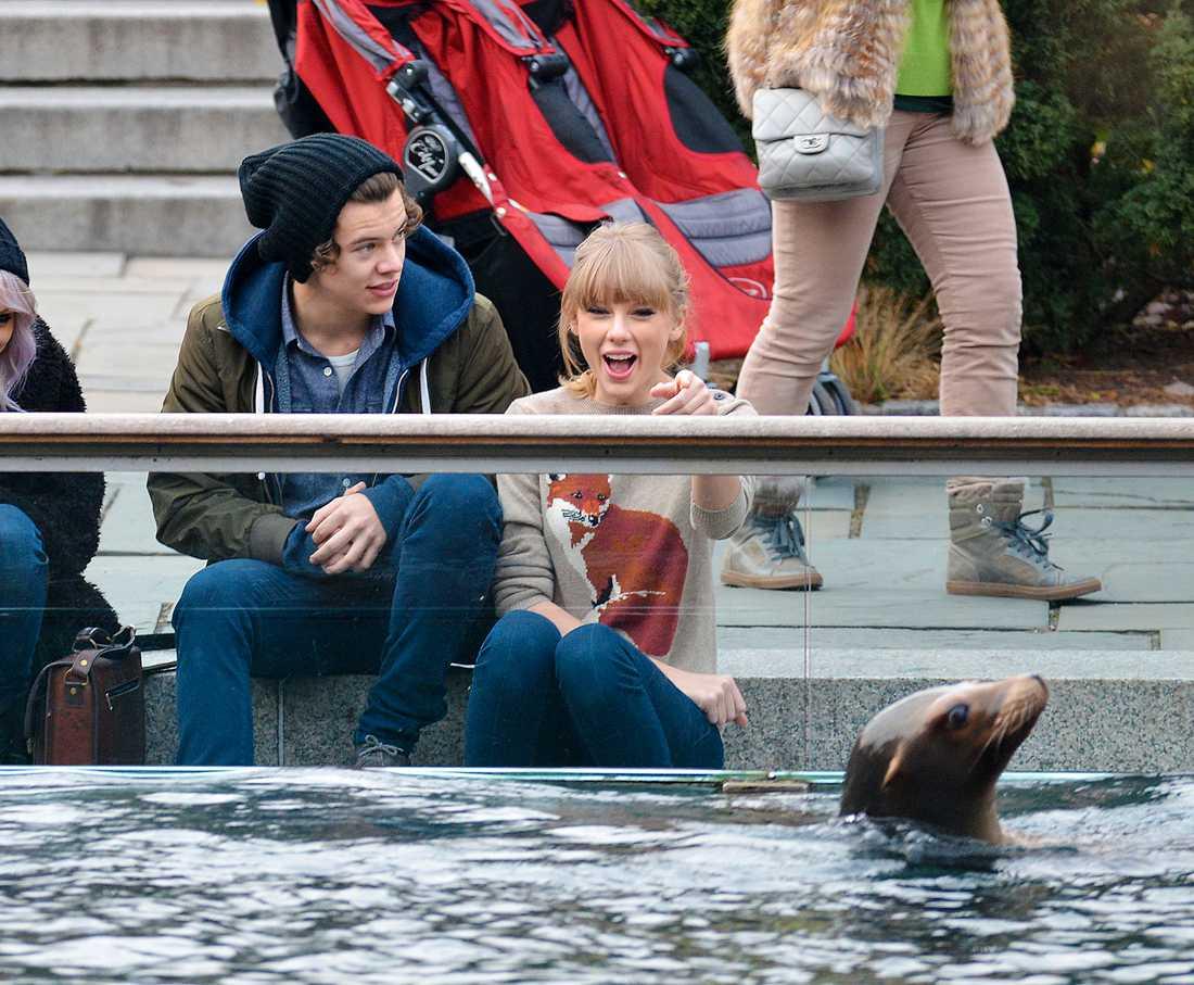 Harry Styles och Taylor Swift Hej lilla sälen
