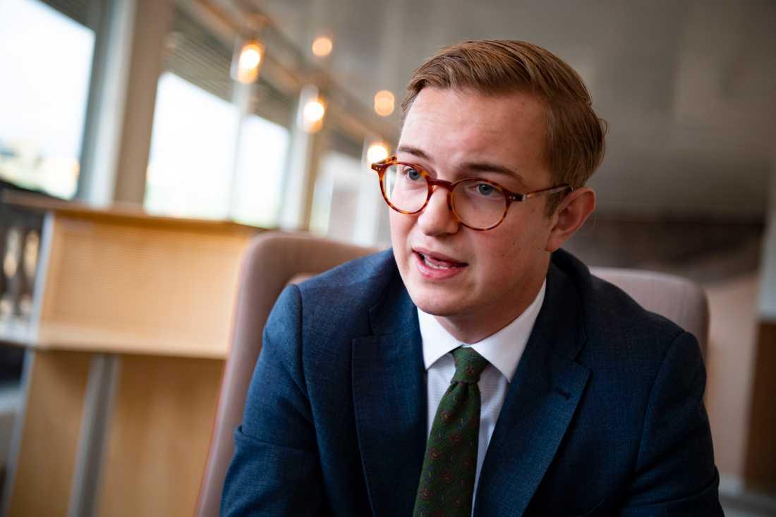 Jonny Cato, migrationspolitisk talesperson (C).