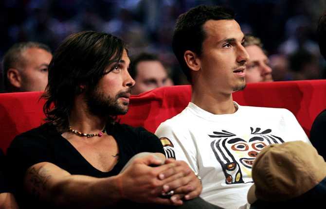I maj 2006 var Zlatan i Stockholm. Han passade då på att se en K1-gala tillsammans med polaren Alexander Östlund.