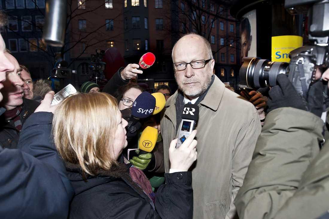 Sven-Erik Österberg, 56: Ledamot i VU, i riksdagen, och tungt namn inom partiet. Har sagt till Ekot att han inte vill kandidera till partiledarposten.