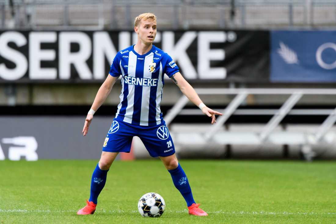 Viktor Wernersson skrev tidigare i veckan på ett kontrakt med belgiska Mechelen.