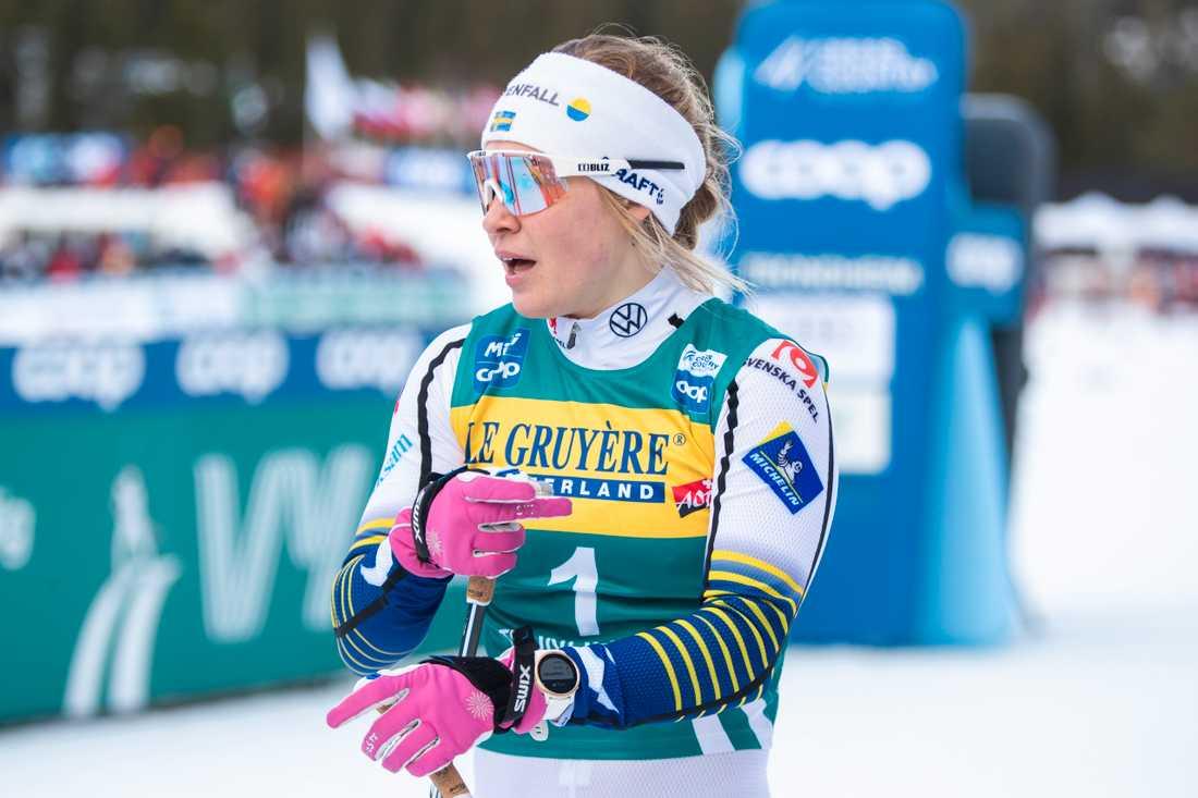 Jonna Sundling blev tvåa i Trondheim.