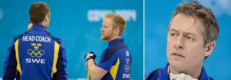 Peja Lindholm och Niklas Edin, här i Sotji-OS 2014.