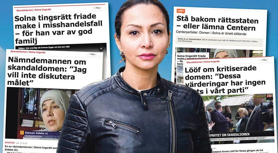Jag vet faktiskt inte vart jag ska börja. Det är så oerhört svårt att ta in att detta sker i en svensk tingsrätt, skriver Bahareh Mohammadi Andersson.