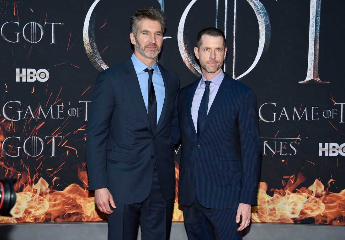 David Benioff och DB Weiss lämnar HBO för konkurrenten Netflix. Arkivbild.