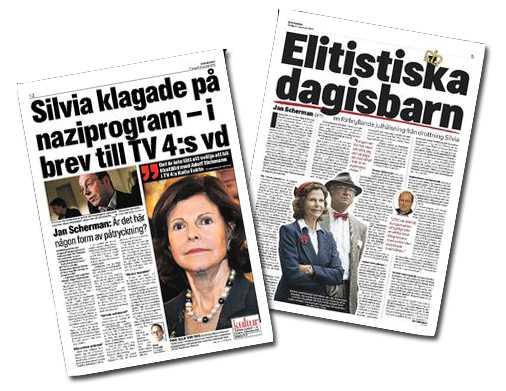 Aftonbladet den 31 december, 2010.