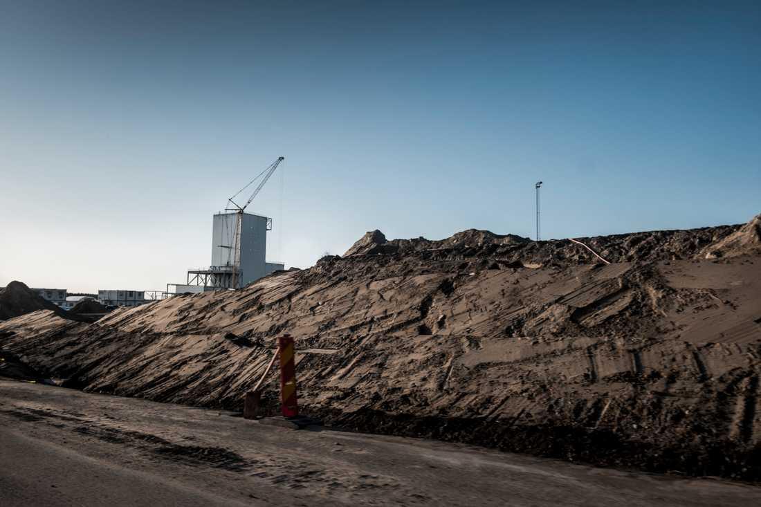 SSAB släpper ut mest koldioxid i svensk industri. Arkivbild.