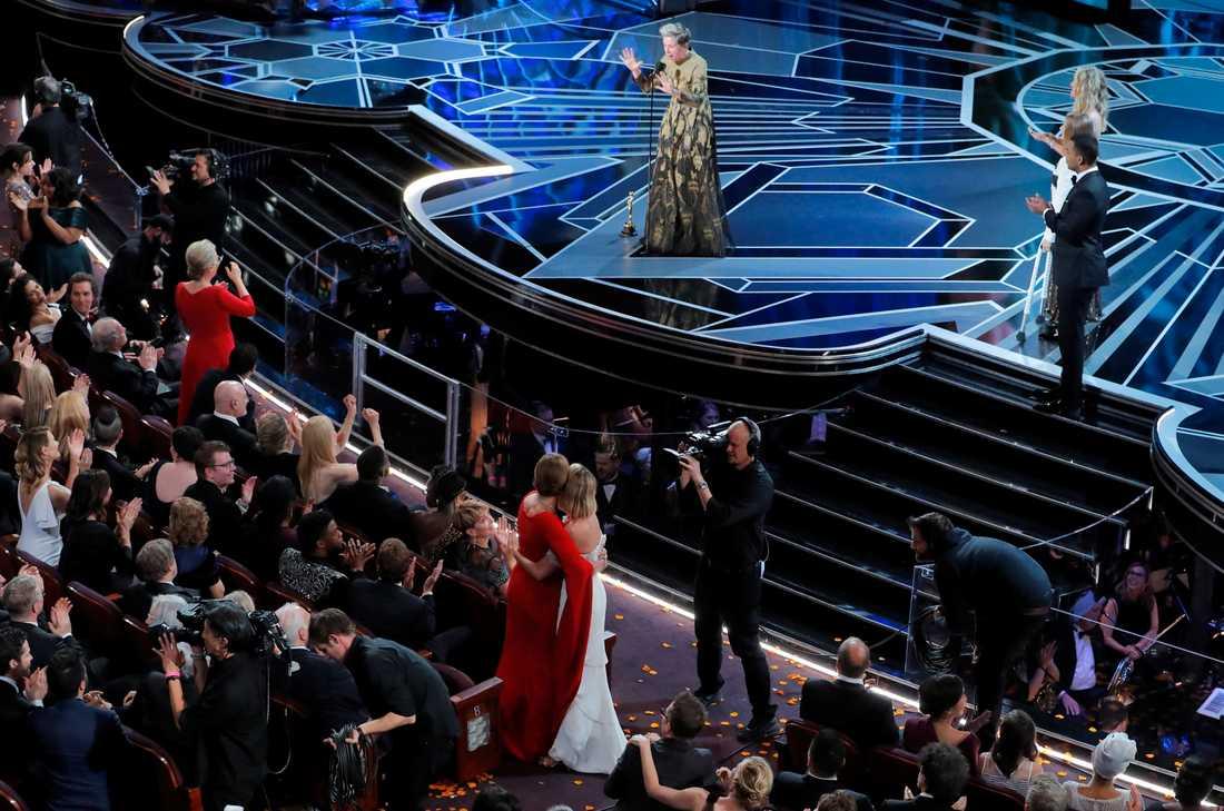 Frances McDormand vann en Oscar för bästa kvinnliga huvudroll i år.
