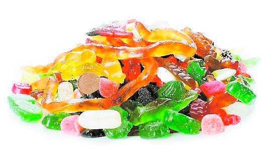 diarre av godis