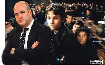"""vänder ryggen Reinfeldts """"två-tredjedelssamhälle"""" bygger på att två har det bra ställt på den tredjes bekostnad. Vad gör ett sådant samhälle mot barn som får växa upp i fattigdom?"""