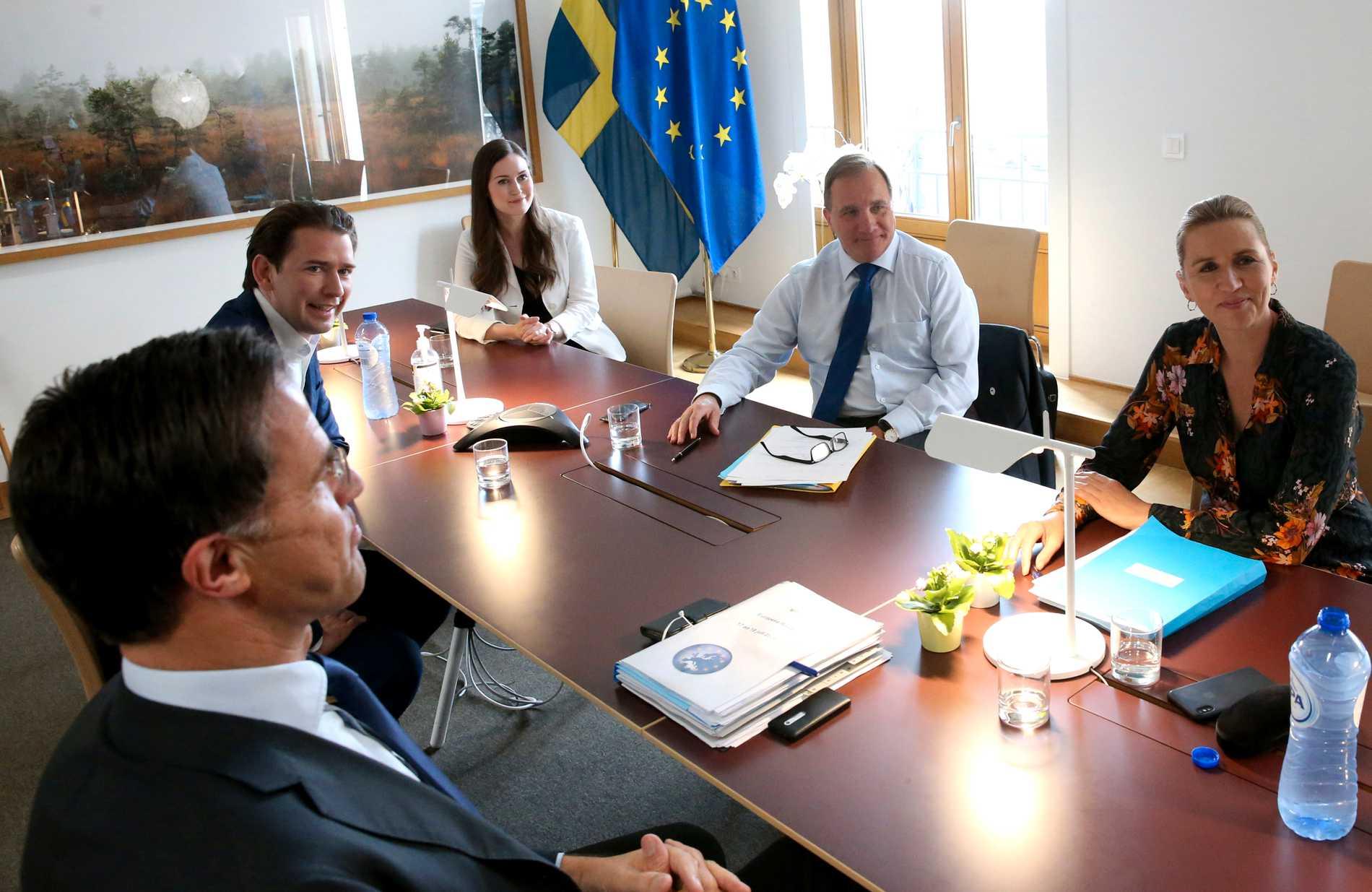 Sverige har räknats som en snåljåp i förhandlingarna om EUs coronapengar.