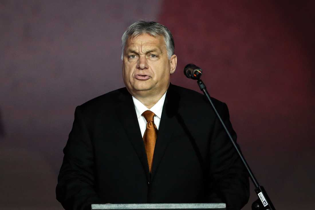 Viktor Orban, Ungerns premiärminister.