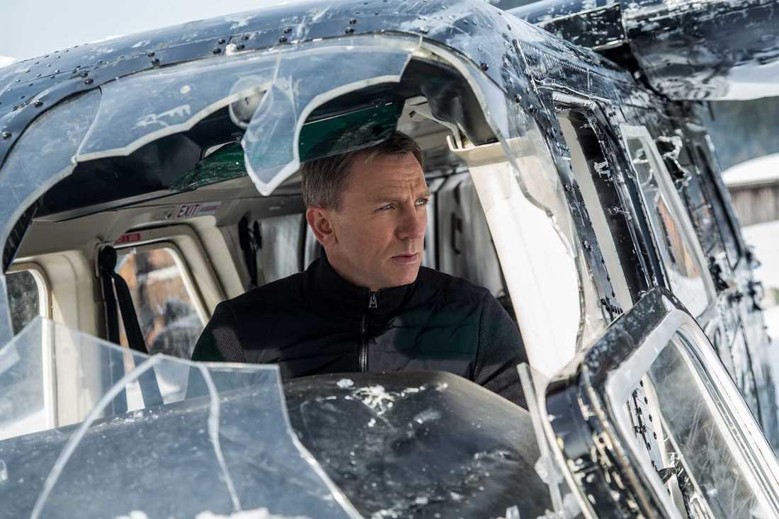 "Daniel Craig som 007 i ""Spectre""."