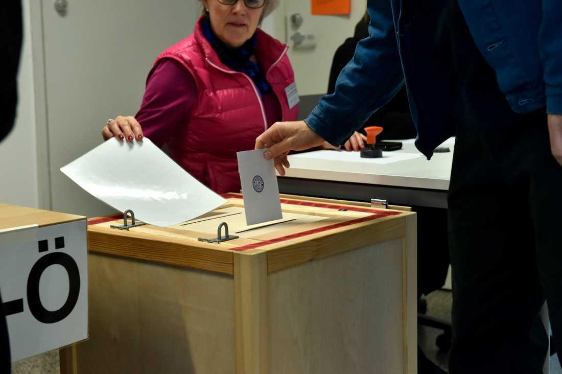Finland går till val.