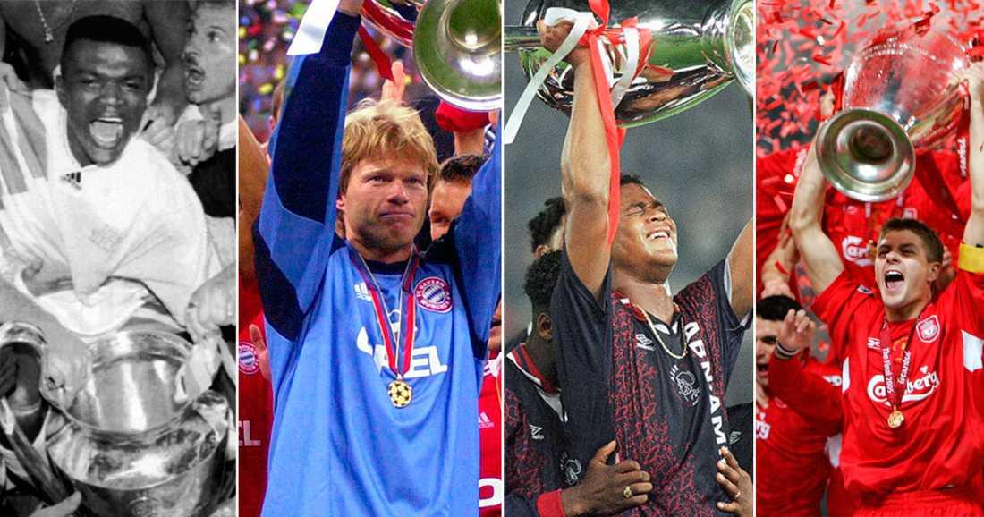 Från 1993 till 2018 – här är en unik tillbakablick på alla finalmatcher som  spelats i Champions League någonsin 4542bbebc02b4