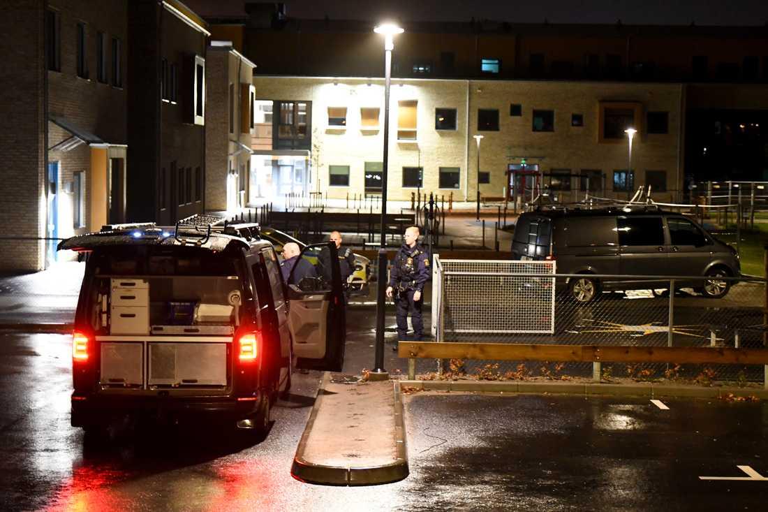 Polisen utreder ett misstänkt sexualbrott vid en skola i Trelleborg.