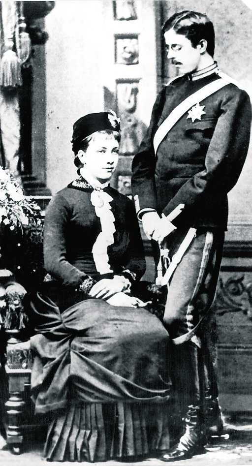 5bfa8166ca70 Gustav V och drottning Victoria bodde också på Tullgarn på somrarna.