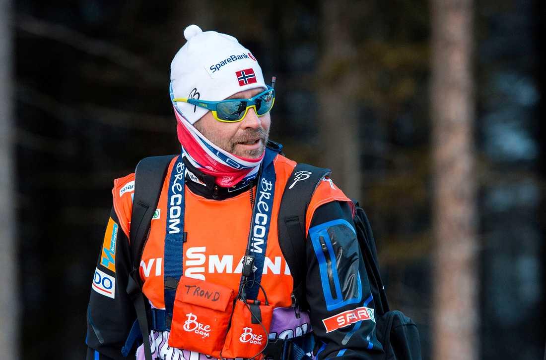 Trond Nystad som var landslagschef för Österrikes åkare under längd-VM i Seefeld