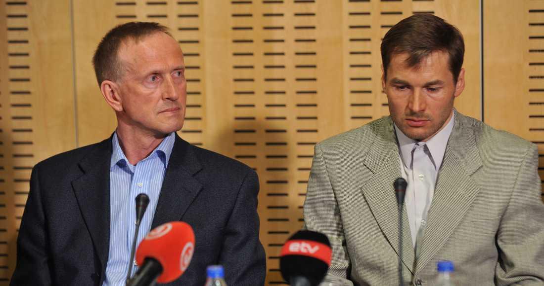 Andrus Veerpalu och Mati Alaver 2011