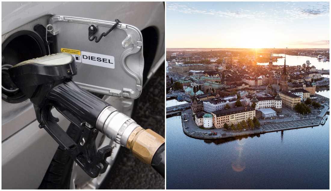 I Stockholm kan snart dieselbilar portas.