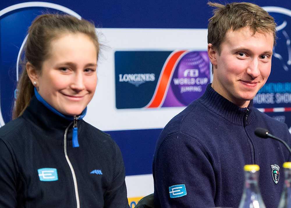 Irma Karlsson och Douglas Lindelöw